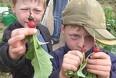 Børn viser minihaver på dyrskue