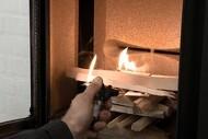 Rygestop for brændeovne