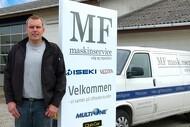 MF maskinservice i Næstved opruster med salg af parkmaskiner