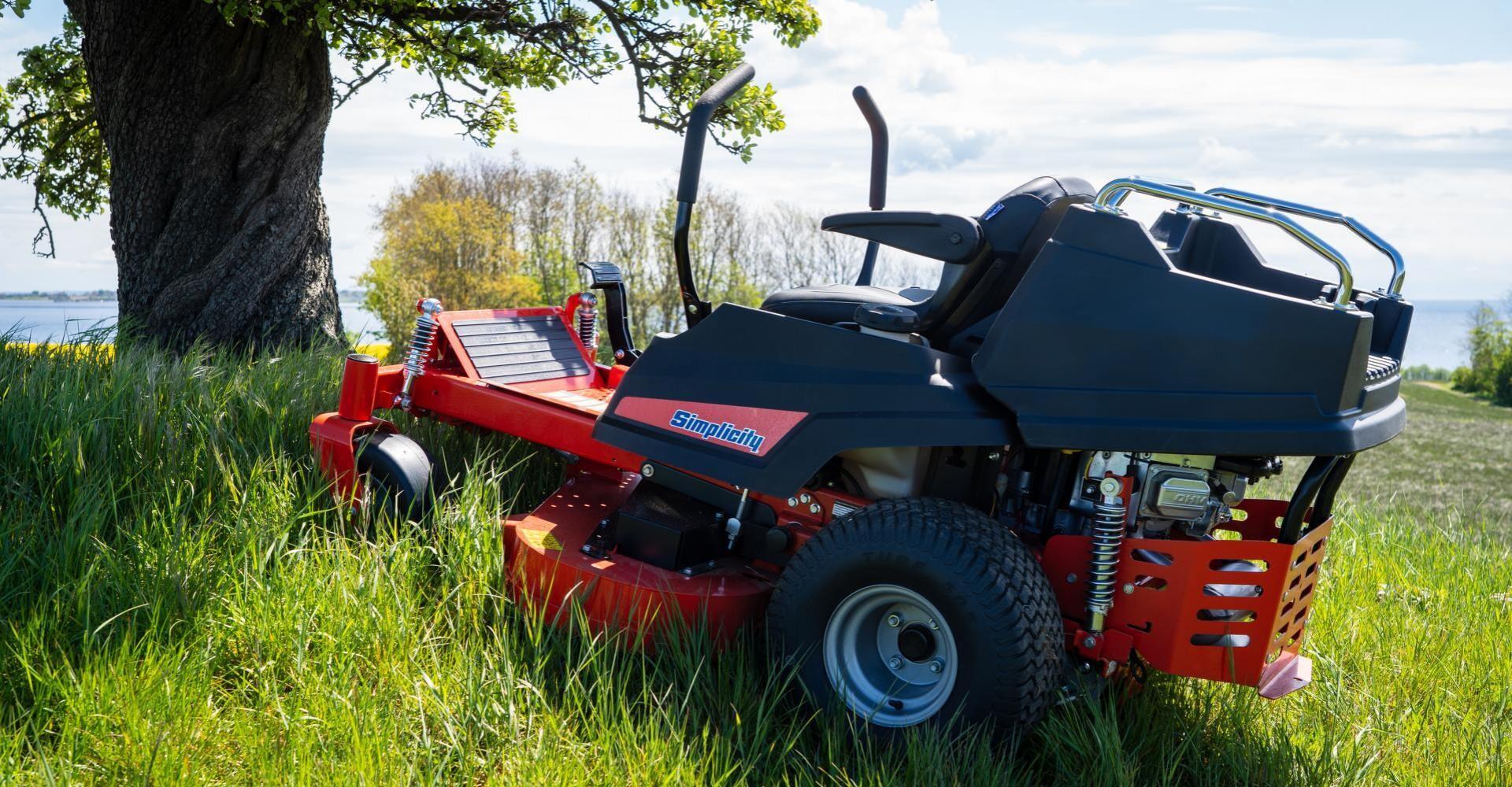 Lynhurtig og effektiv græsslåning