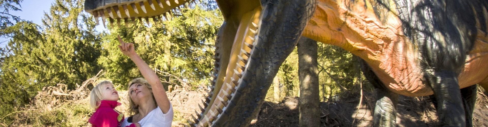Givskud Zoo indvier dinosaurpark