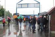 Landsskuet åbnede i regnvejr