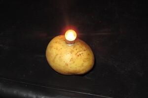 Kartofler slår batterier