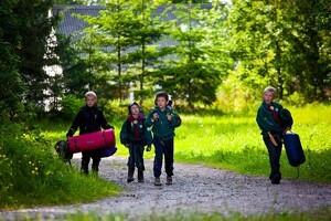 Naturliv for småbørnsfamilier
