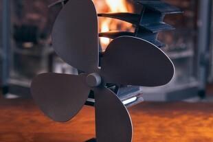 Få mere varme ud af brændeovnen