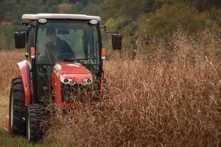 Kompakt traktor fra MF vises på dyrskuerne.