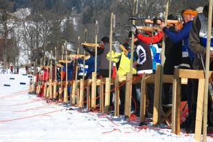 Skovfolk i ski-konkurrence