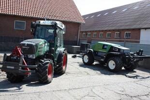 Førerløse traktorer på landsskuet
