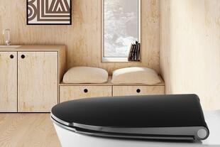 Designer-bræt på badeværelset