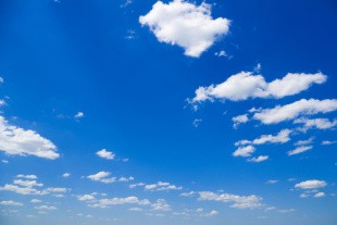 Ozonindholdet i luften er lettere forhøjet