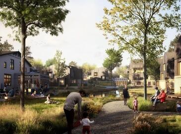 Den moderne landsby er et parkfællesskab