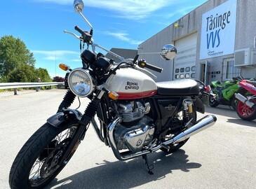 Retro-motorcykel går som varmt brød