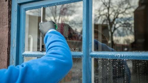 Sådan pudser du nemmest vinduer