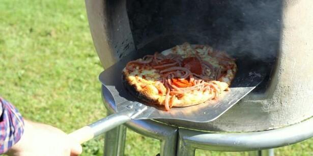 Pizza på terrassen året rundt