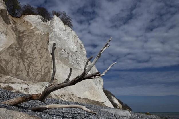 Billedet af Møns Klint taget af Ole Bach Kristensen er vinder af fotokonkurrencen.