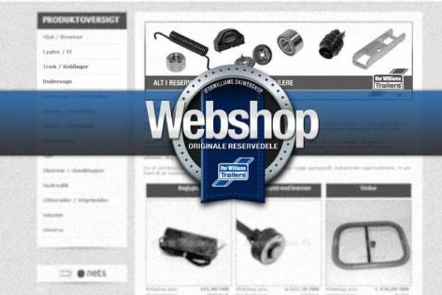 Hos Ifor Williams webshop kan kunderne få de originale reservedele leveret til deres lokale Ifor Williams forhandler fragtfrit.