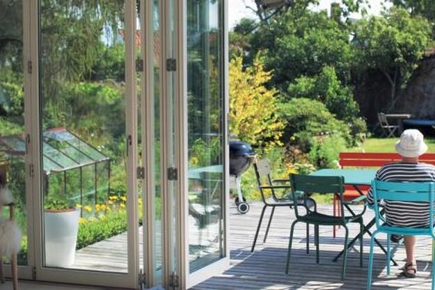 Gør terrassen til en del af stuen