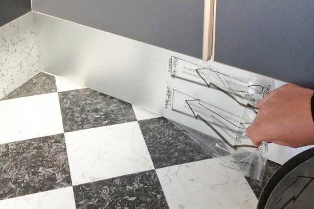 Beklæd køkkenet med stål