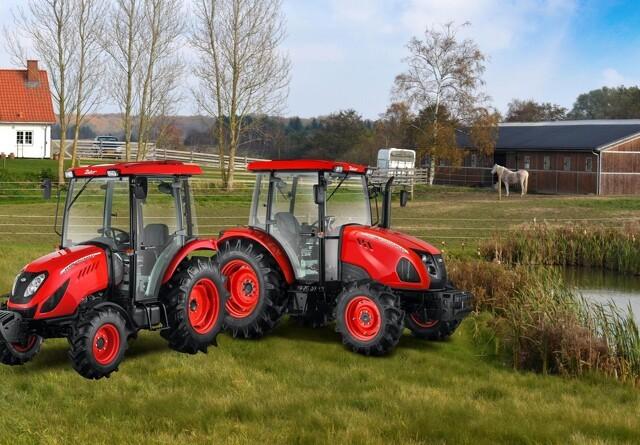 To kompakte traktormodeller