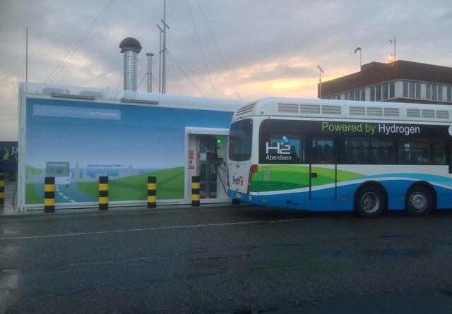 Danmark har fået en stor pose penge til brintbusser
