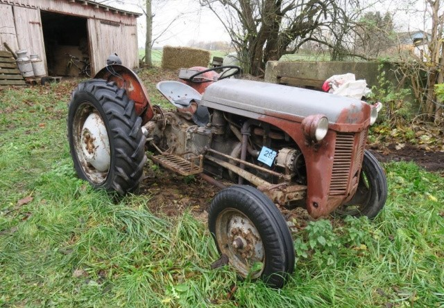 Stort landbrug på auktion