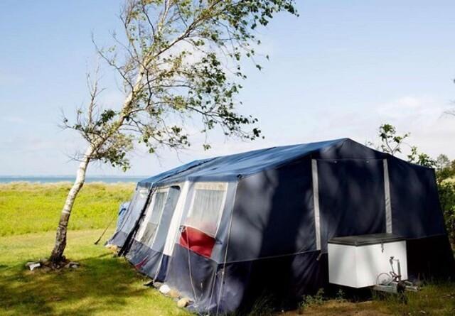 Fem campingpladser er snart klar til salg