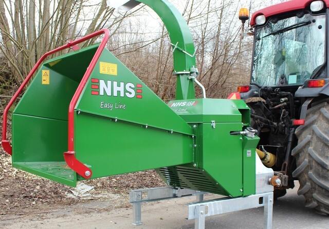 Dianalund Motor får NHS flishuggere
