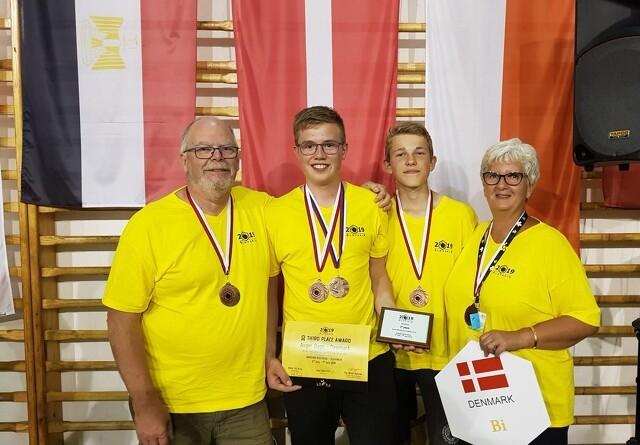 16-årig biavler vinder bronze