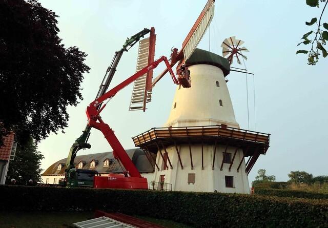 Dybbøl Mølle restaureres for 3,5 millioner kroner