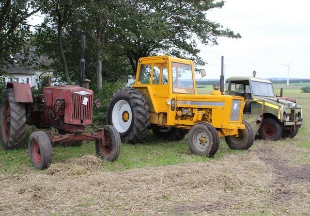 Komplet samling af Bukh veteran-traktorer under hammeren
