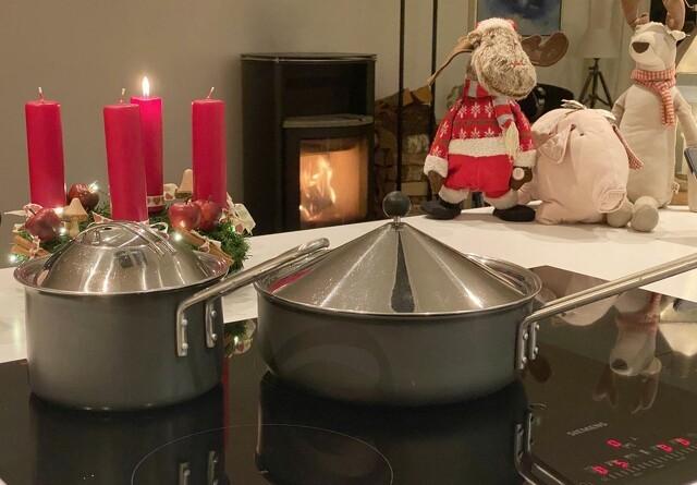 Julebrande sker i køkkenet