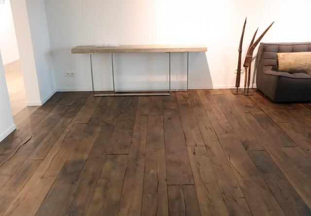 Nyt gulv er fyldt med
