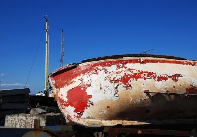 Tænk på miljøet, når du maler din båd