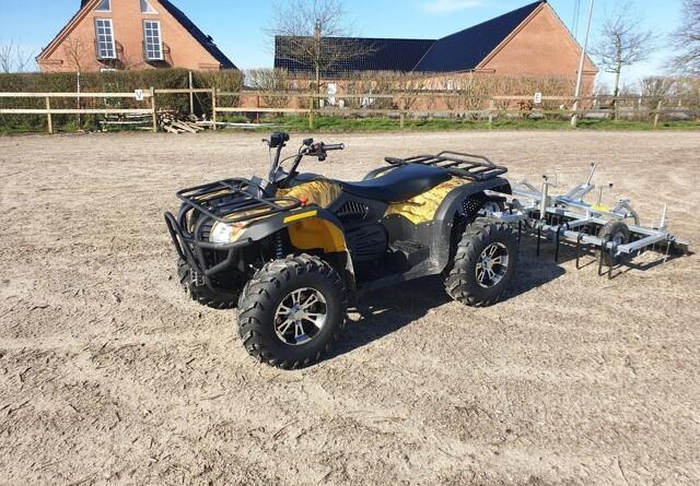 Kraftig elektrisk ATV til både private og professionelle