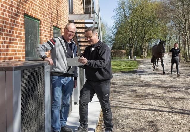 Hestene tager billige og grønne brusebade