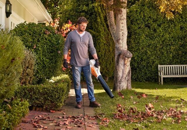 Lydsvag og kraftfuld løvblæser