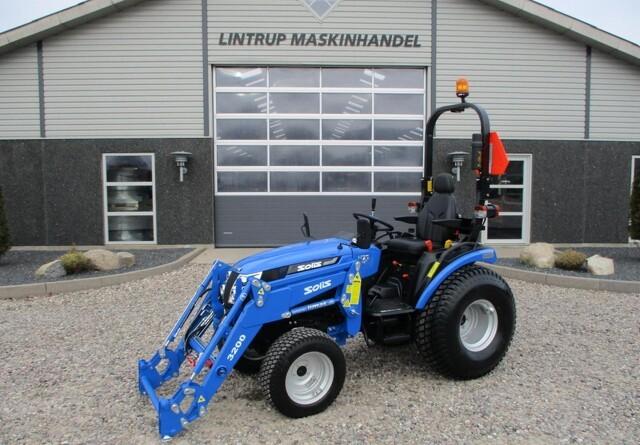 Ny minitraktor med cruise control og hydrostat-gear