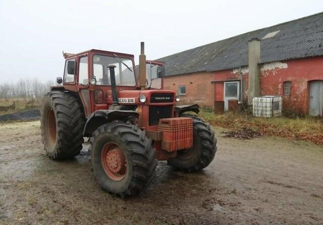 Eftertragtet Volvo-veterantraktor på auktion