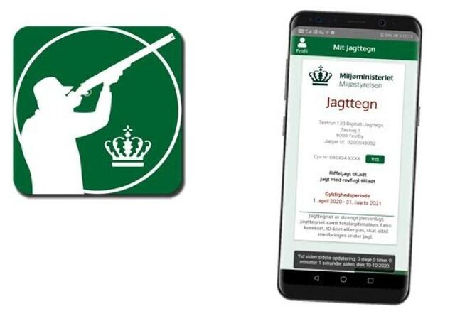 Nu kan du få jagttegnet på din smartphone