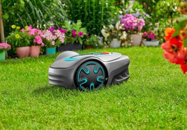 Miljøvenlig mini-robotplæneklipper