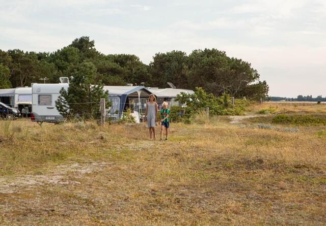 Jubler over camping-køb