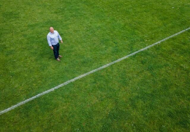 Claus' GPS-styring sørger for snorlige streger