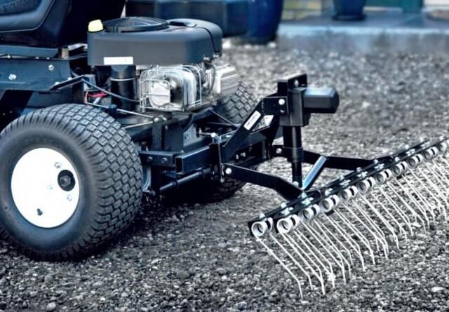 Vind elektrisk rive til havetraktoren eller ATV'en