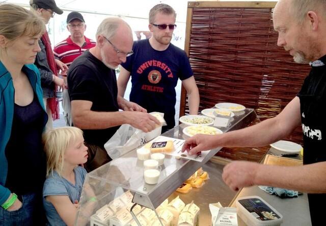 Lokale fødevarer på Landsskuet