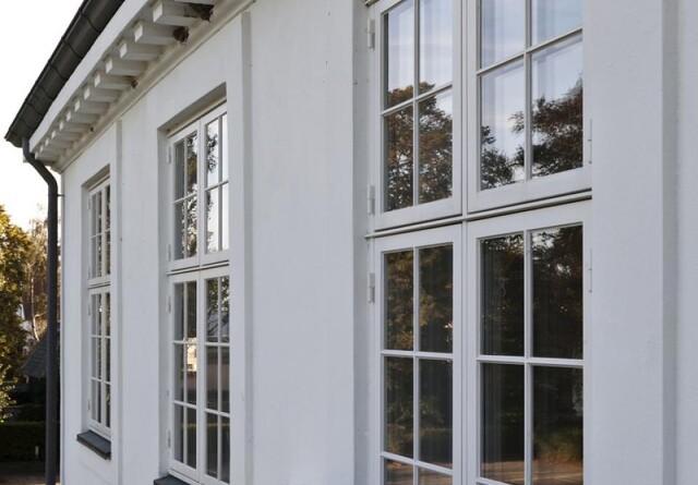 20 års garanti på vinduer og døre