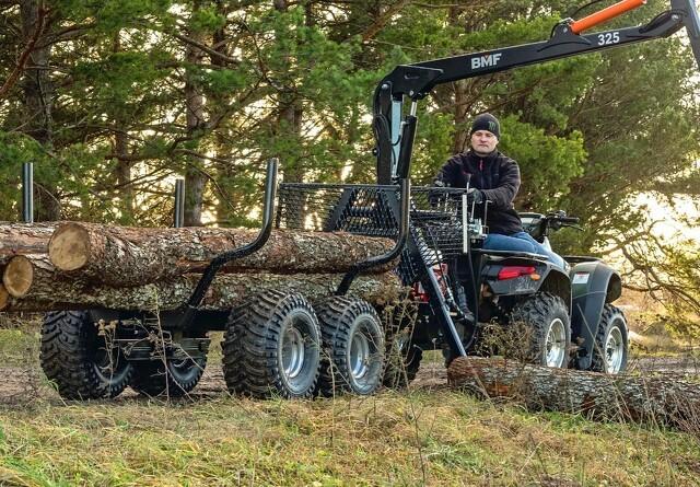 Nye skovvogne i alle størrelser