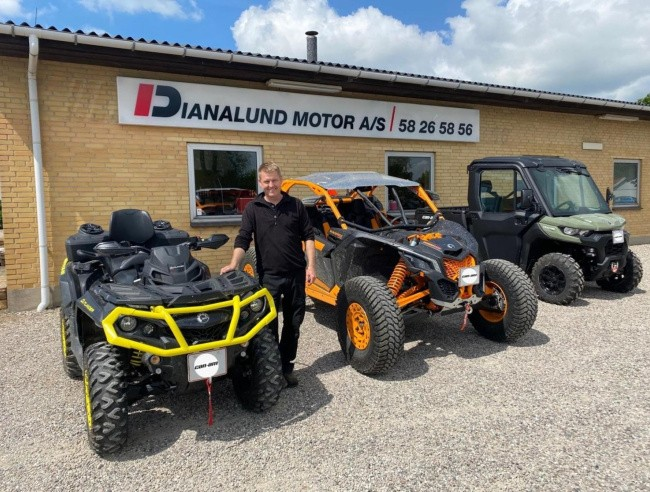 Fart over feltet med Can-Am offroadere