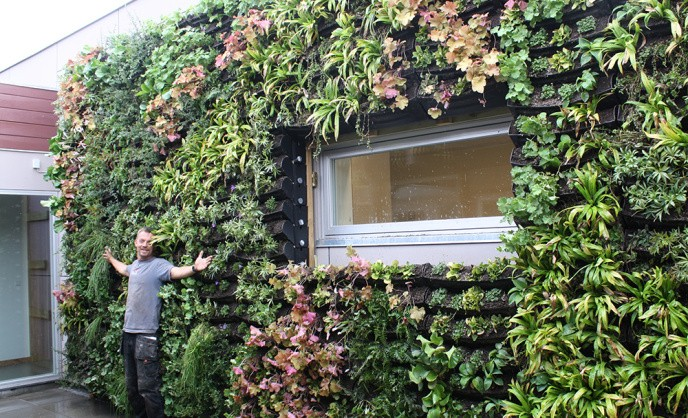 BGreen-it Living wall fra BG Byggros