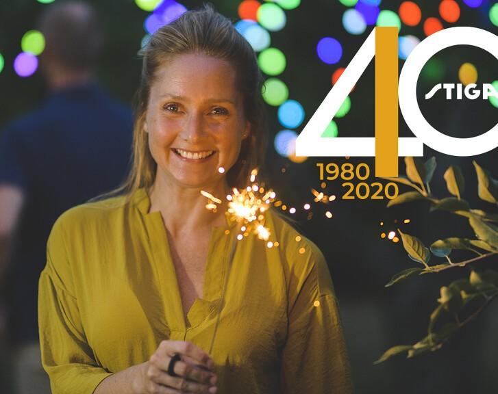 STIGA Danmark fejrer 40-års jubilæum