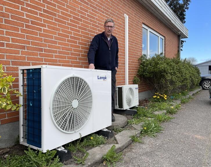 Billig og klimavenlig opvarmning med varmepumpe